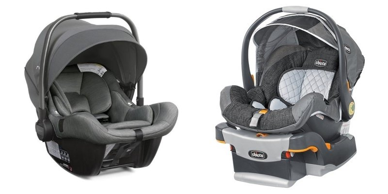 Rear-facing infant car seats